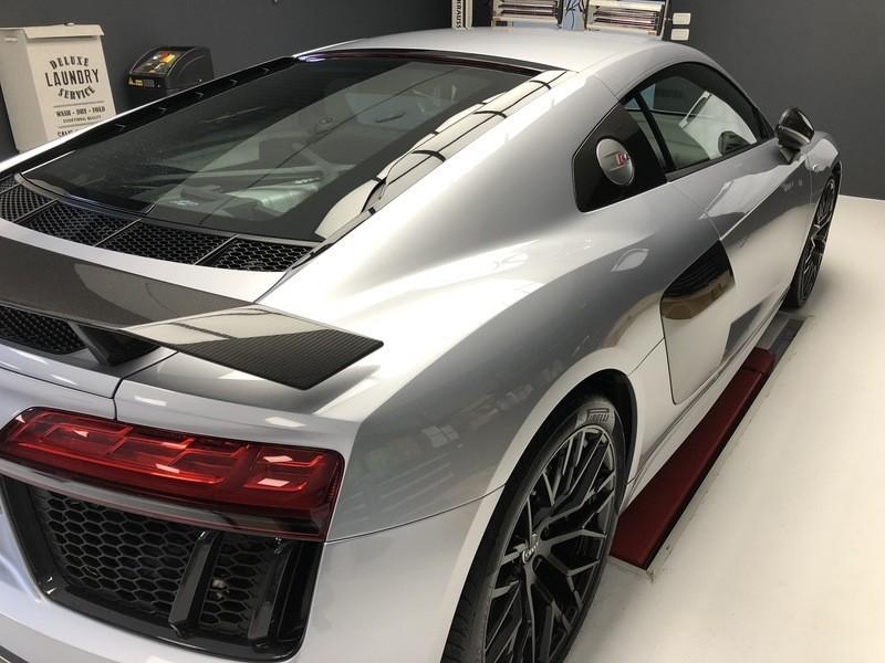 Admin&Brother vs Audi R8 V10 ElISoZ