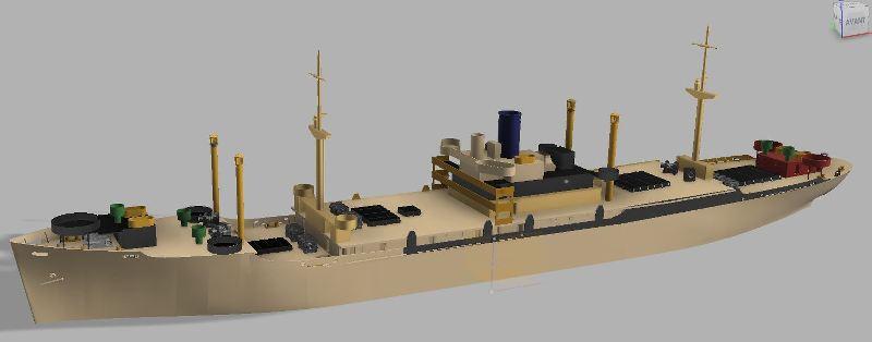 USS CAGE APA-168 au 1/350 - Page 2 H4rVIx