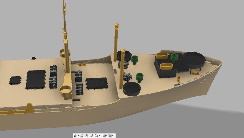 USS CAGE APA-168 au 1/350 - Page 2 KB3Q4s