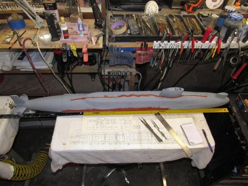 Assembling the excellent Scale Shipyards 1/96 SSBN, USS Daniel Webster VYcVjU