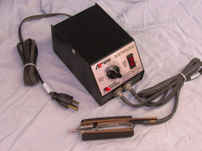 resistive soldering of hand-rails 1yfPkD