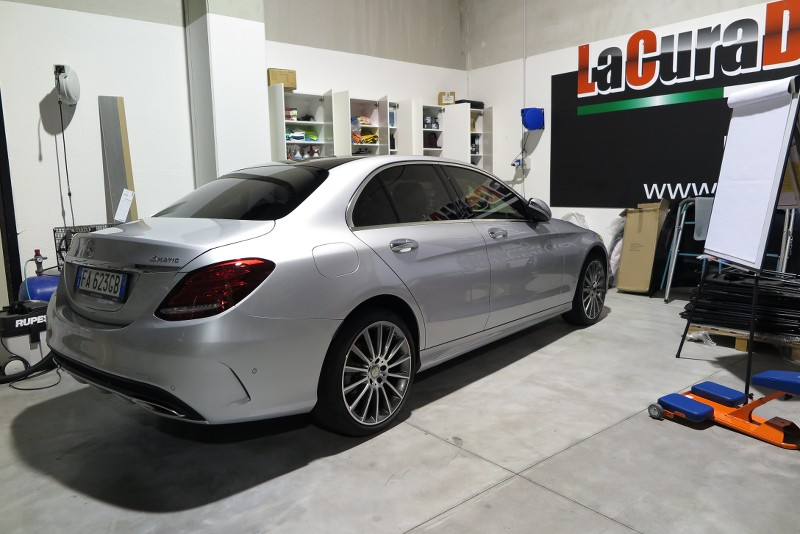 Admin Vs Mercedes C400 4 Matic Gtechniq Crystal Serum Black 5rerJP