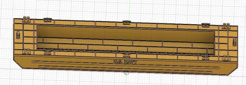 Grues sur barges & remorqueur (Impression 3D 1/350°) de NOVA73 C9Ougt