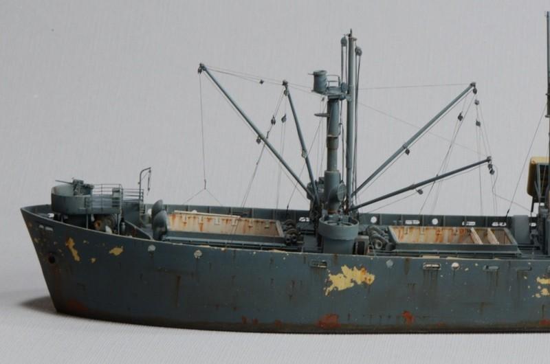 Diorama Port Mulberry A Omaha Beach 16 Juin 1944 au 1/350 - Scratch sur base Iron Shipwrights, Trumpeter et l'Arsenal K4PkTK
