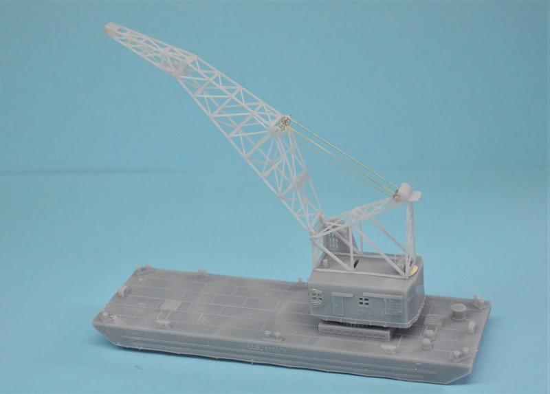 Grues sur barges & remorqueur (Impression 3D 1/350°) de NOVA73 LEyRBl
