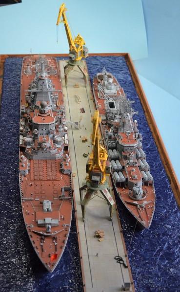 Diorama Class KIROV et Class SLAVA au 1/350 – Kit Trumpeter - Page 9 Mh5GU5