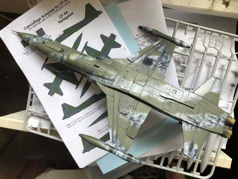tiger - CF-5A TIGER HOBBIES 1/48 OQD88c