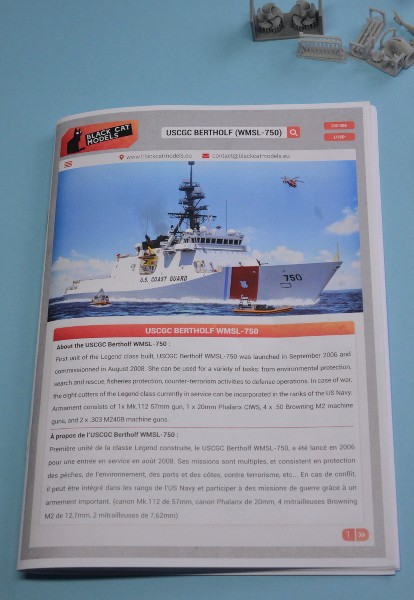 USCGS BERTHOLF 750 au 1/350 de chez Black Cat Model QFYnD0