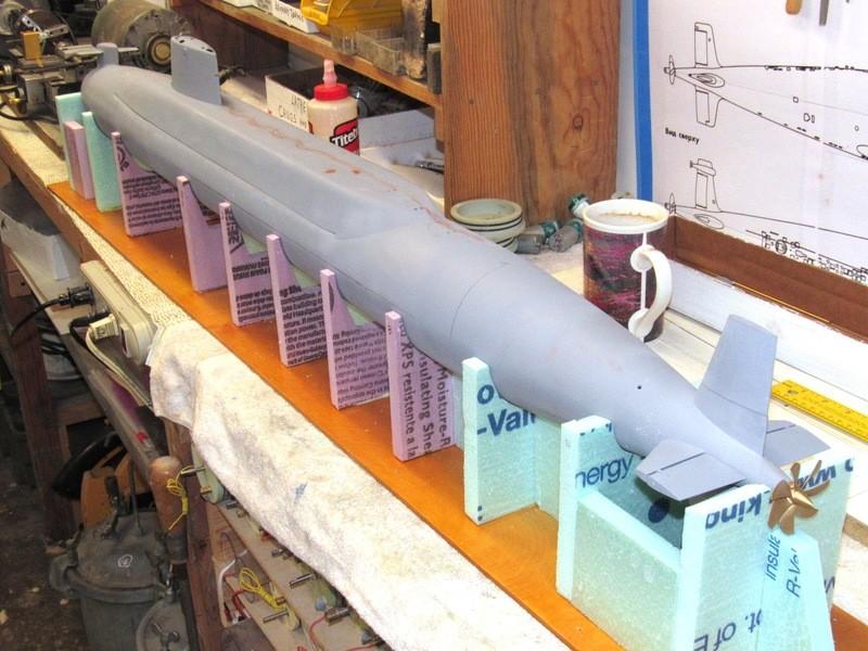 Assembling the excellent Scale Shipyards 1/96 SSBN, USS Daniel Webster XihjKz