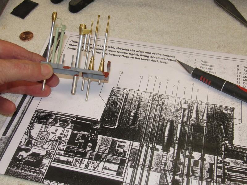 assembling the SWM 1/96 KILO BGDF6v