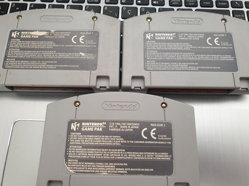 [ECH] WiiU / Wii / NES / NDS / N64 / GBA [maj : 28/05] BOLss4