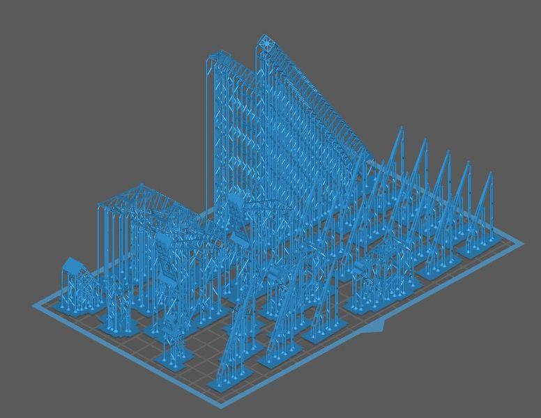 Grues sur barges & remorqueur (Impression 3D 1/350°) de NOVA73 Dq58Jb