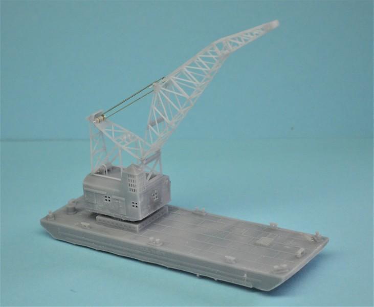 Grues sur barges & remorqueur (Impression 3D 1/350°) de NOVA73 GH6Gym