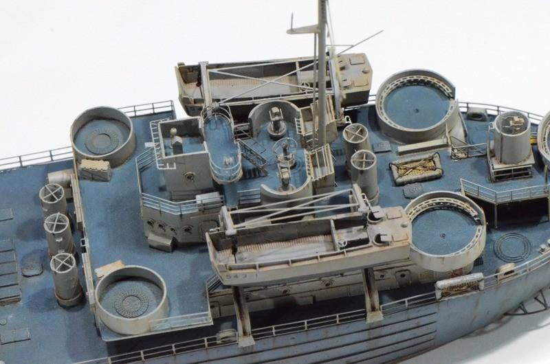 Diorama Port Mulberry A Omaha Beach 16 Juin 1944 au 1/350 - Scratch sur base Iron Shipwrights, Trumpeter et l'Arsenal GZQJun