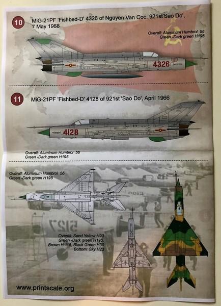 MIG 21PF NORD VIETNAM - EDUARD - 1/48 LqmuZM