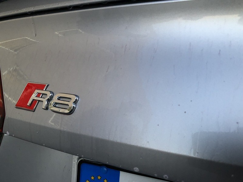 Admin&Brother vs Audi R8 V10 ONxYym