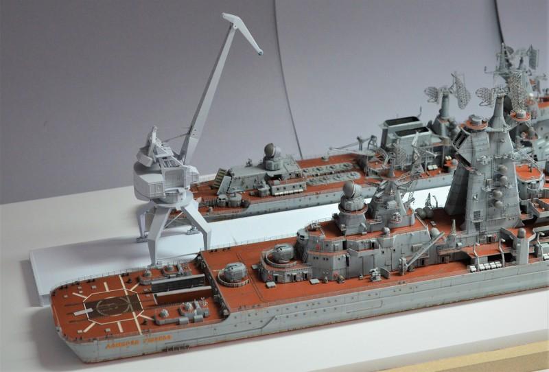 Diorama Class KIROV et Class SLAVA au 1/350 – Kit Trumpeter - Page 8 PU7OwT