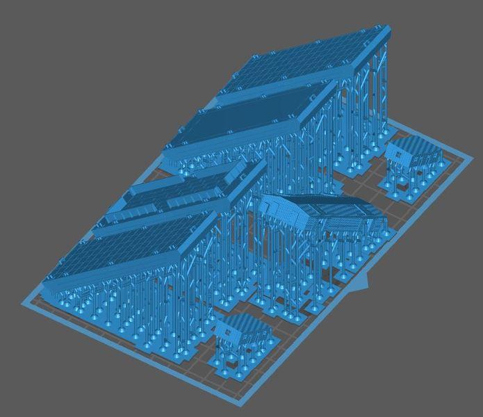 Grues sur barges & remorqueur (Impression 3D 1/350°) de NOVA73 PXMMaE