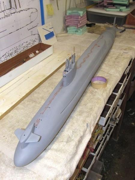 Assembling the excellent Scale Shipyards 1/96 SSBN, USS Daniel Webster Q3IvLL
