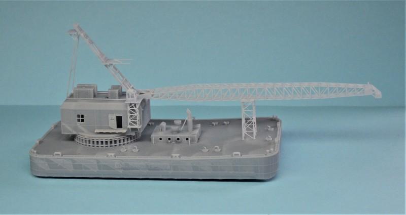 Grues sur barges & remorqueur (Impression 3D 1/350°) de NOVA73 3s40US