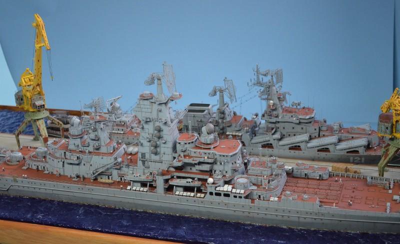 Diorama Class KIROV et Class SLAVA au 1/350 – Kit Trumpeter - Page 9 62AGpE