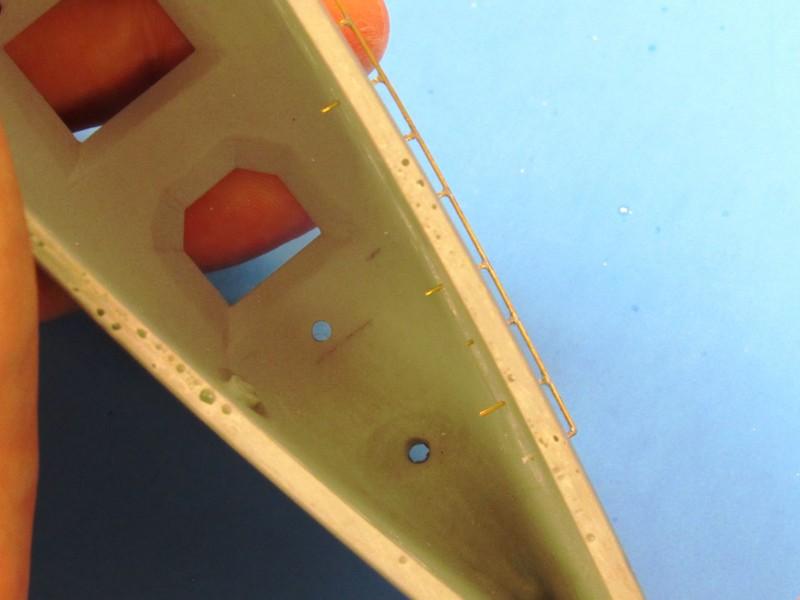 resistive soldering of hand-rails KO3Tyq
