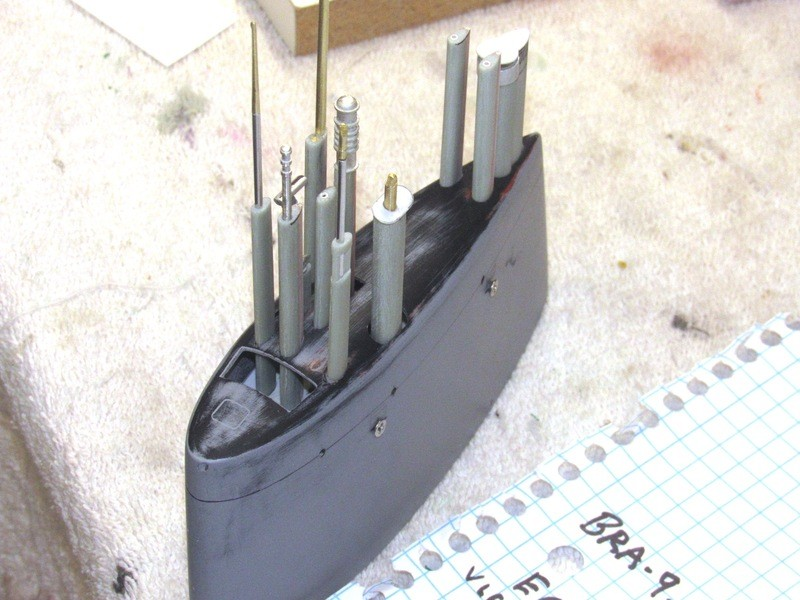 Assembling the excellent Scale Shipyards 1/96 SSBN, USS Daniel Webster MfpJjk