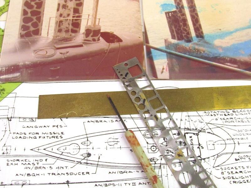 Assembling the excellent Scale Shipyards 1/96 SSBN, USS Daniel Webster UxaVKU