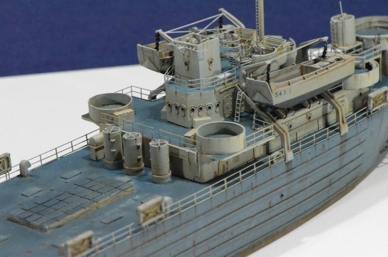 Diorama Port Mulberry A Omaha Beach 16 Juin 1944 au 1/350 - Scratch sur base Iron Shipwrights, Trumpeter et l'Arsenal VxFg5F