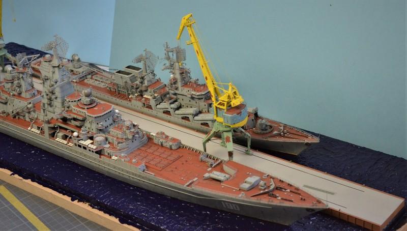 Diorama Class KIROV et Class SLAVA au 1/350 – Kit Trumpeter - Page 9 YBfqkN