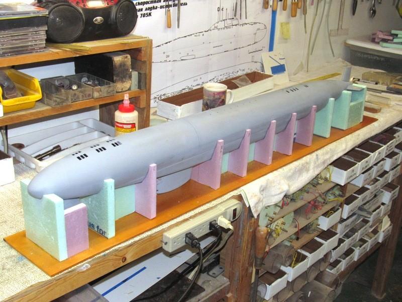 Assembling the excellent Scale Shipyards 1/96 SSBN, USS Daniel Webster YyLcaQ