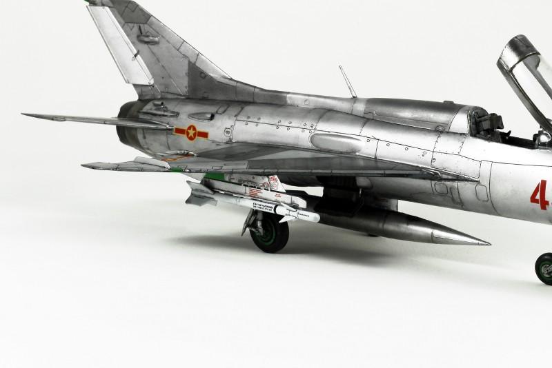 MIG 21PF NORD VIETNAM - EDUARD - 1/48 ZApKLK