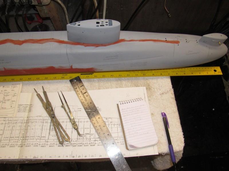 Assembling the excellent Scale Shipyards 1/96 SSBN, USS Daniel Webster BCcjnH