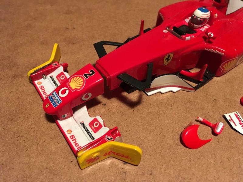 MR03 charbon full PN - Carrosserie F1 Ferrari Go47p7