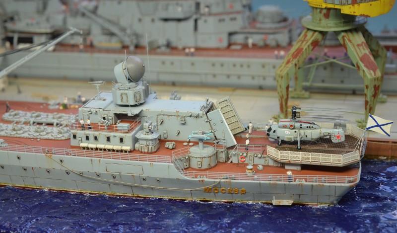 Diorama Class KIROV et Class SLAVA au 1/350 – Kit Trumpeter - Page 9 GxkA34