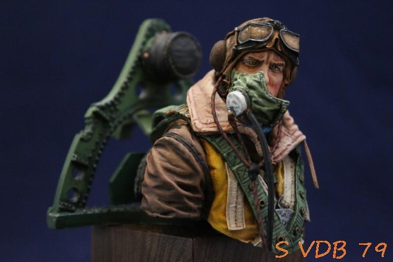 Pilote RAF 1/12 ISARDx