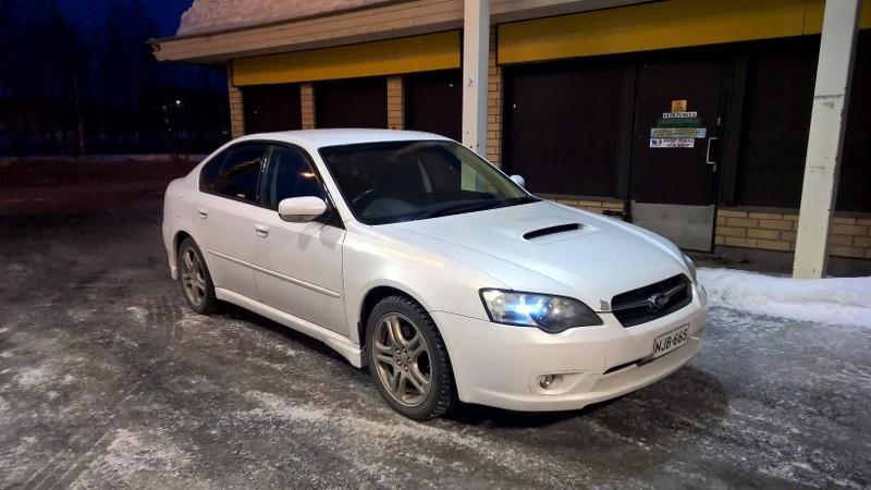 Subaru Legacy 2005 B4 BL5 GT, manuaali ~140tkm JbWJl1