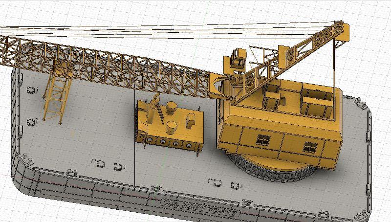 Grues sur barges & remorqueur (Impression 3D 1/350°) de NOVA73 K9VC4w