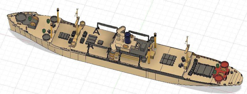USS CAGE APA-168 au 1/350 - Page 2 QuJBLA