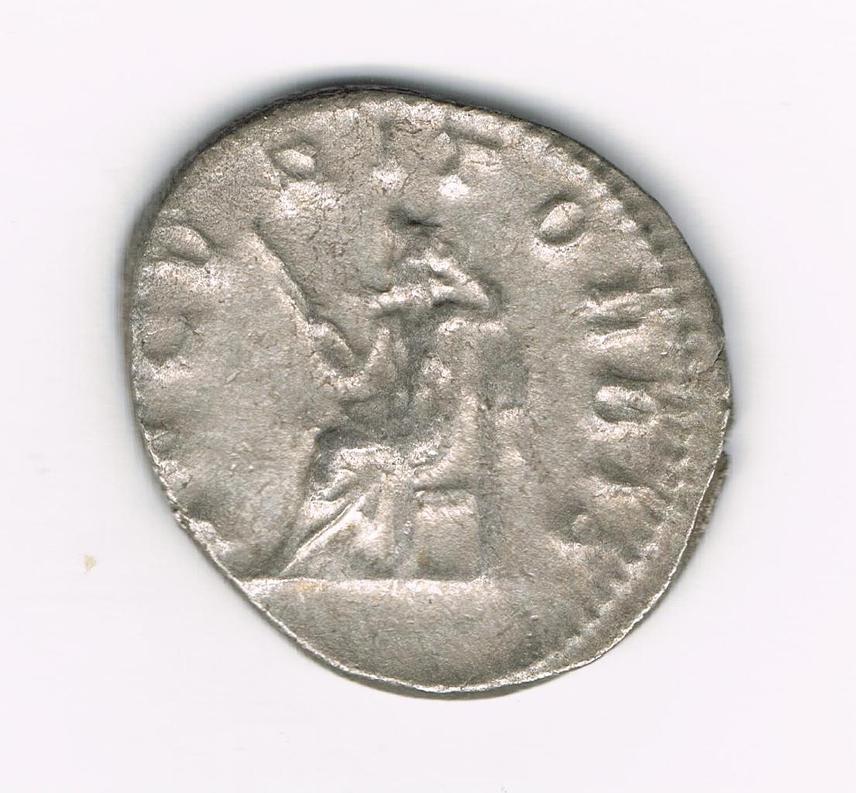 Antoniniano de Filipo I. SECVRIT ORBIS. Securitas sedente a izq. Ceca Roma. 0J9PKi