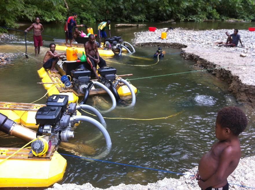 Самородки Папуа Новая Гвинея Zpcz