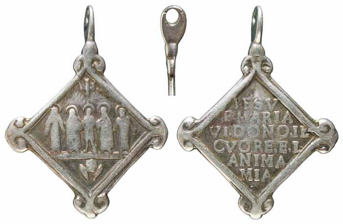 Algunas formas atípicas de medallas. Mr280