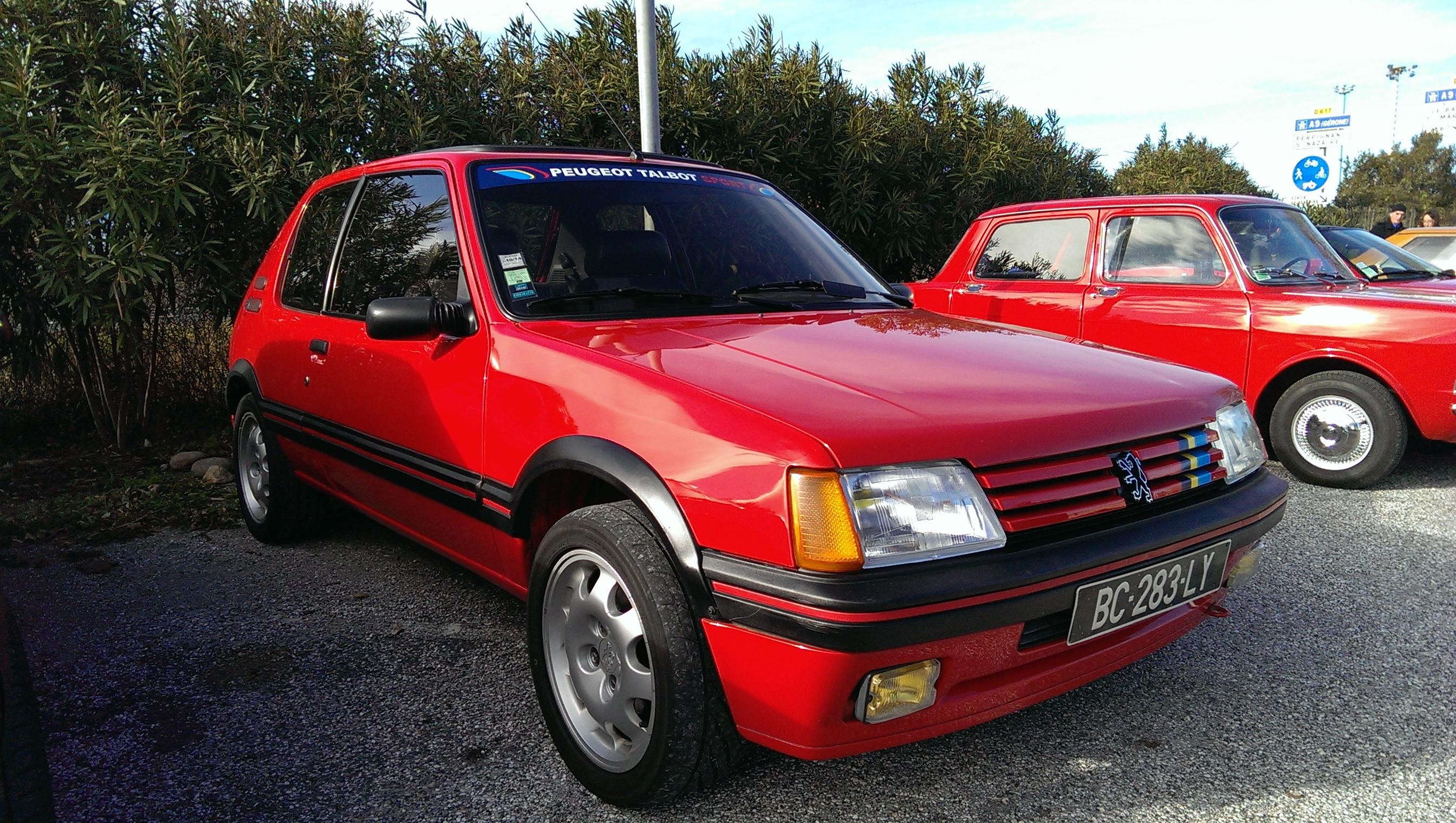 [toreto04] 205 GTI 1.6L - Gris Graphite - 1988 Km45