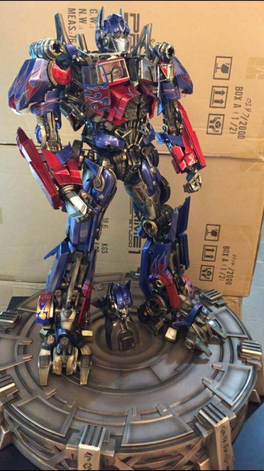 Transformers : DotM - Optimus Prime Statue 9H8sjt