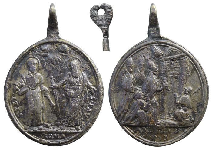 S. Pedro y S. Pablo / Apertura de la Puerta Santa 1750 - MR(433) (RM SXVIII-O254) OmbJBc