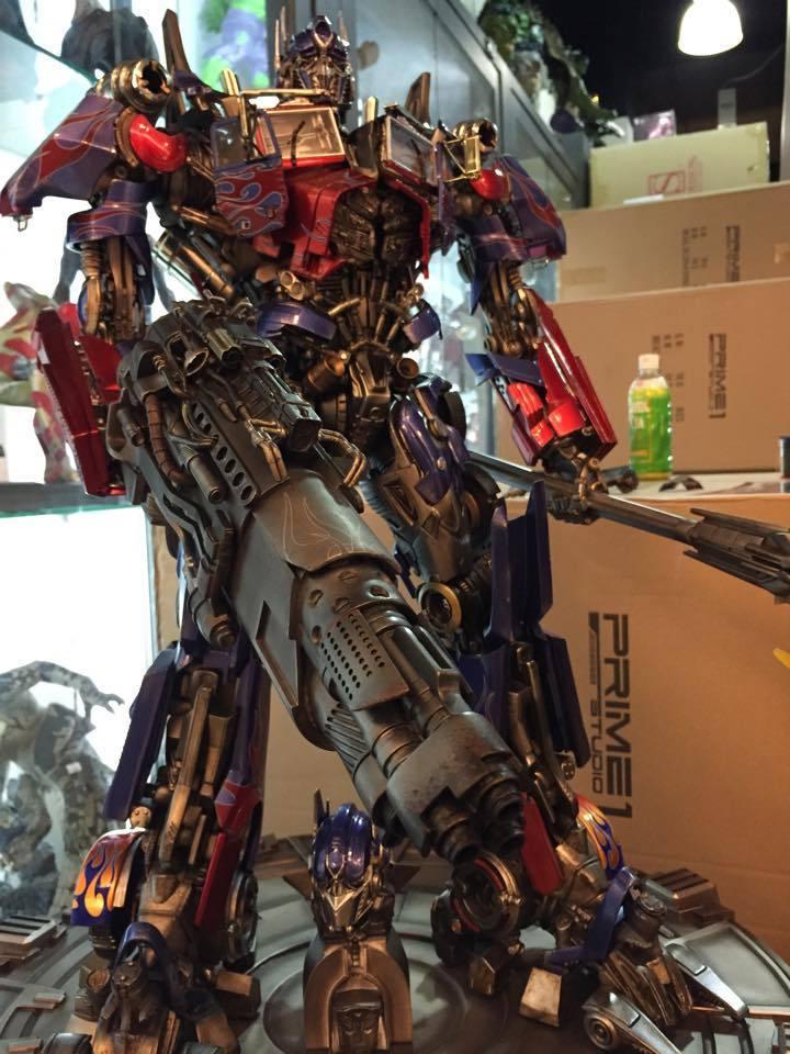 Transformers : DotM - Optimus Prime Statue YxHSCg