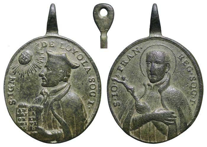 San Ignacio de Loyola / San Juan Francisco Regis - MR(455)(R.M. SXVIII-O281) LFByYF