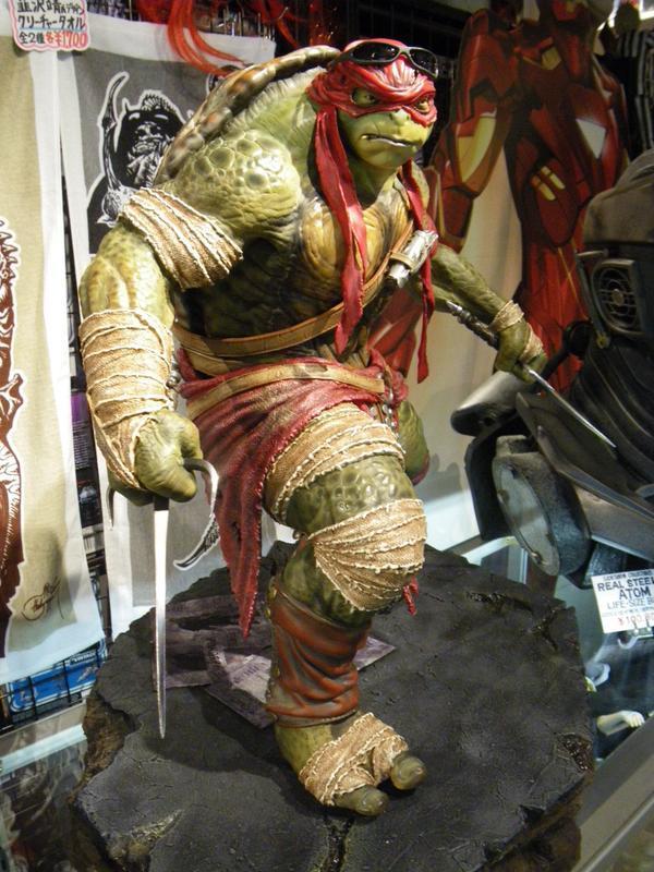 TMNT 2014 - Raphael 1/4 Statue TalbVt