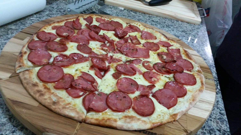 Mais um Forno Las Lenhas do Cheff Hassin construído em Salvador e pizzas sensacionais feitos neste forno! HoaiIl