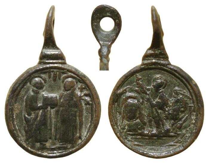 Santos canonizados en 1622 MR(085) MR(086) (MR(087), S. XVII KmYSXi